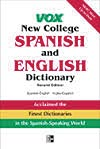 Vox New College Spanish/English-Ingles/Espa�ol Dictionary